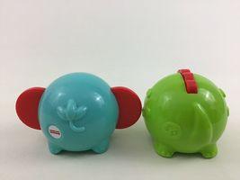 Fisher Price Toddler Stacking Animal Toys 3pc Lot Elephant Crocodile Toy image 5