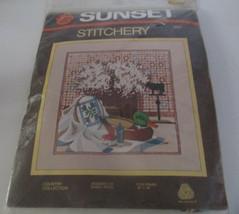"Sunset Stitchery Kit--""Country"" Collection-SEALED - $11.26"