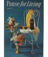 Pause for Living Summer 1959 Vintage Coca Cola Booklet Fourth of July Te... - $9.89
