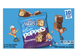 Kellogg's Rice Krispies Treats Snap Crackle Poppers, Crispy Marshmallow Squares, - $9.89