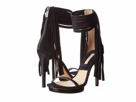 Michael Kors Daphne Black Suede Women's Platform High Heels Size EU 37 U... - $156.82