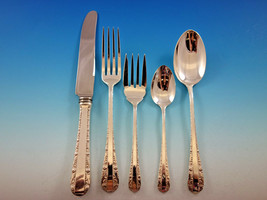 Rose Bower by Birks Canada Sterling Silver Flatware Set 8 Service 44 pieces - $2,650.00