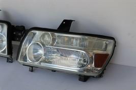 04-10 Infiniti QX56 Xenon HID Headlight Head Light Lamps Set LH & RH -POLISHED image 2