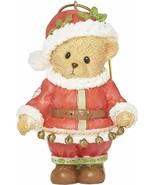 "Roman Cherished Teddies, Santa Teddy Bear Ornament, 3.5"" H - $9.89"