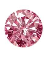 0.23 Ct Round Cut Moissanite Fancy Pink 4mm Diameter Loose Stone C&C - $79.18