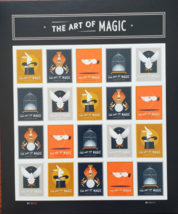 The Art Of Magic - 2017 (Usps) Forever Stamps 20 Stamps - $13.95