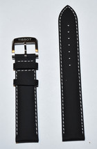 Original Tissot Quickster T095410A / T095417A Black Leather Watch Band S... - $58.00