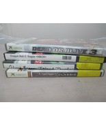 Lot of 4 Xbox games Ghost Recon Tom Clancy's Dragon Ball Z Sagas Dead or... - $13.99