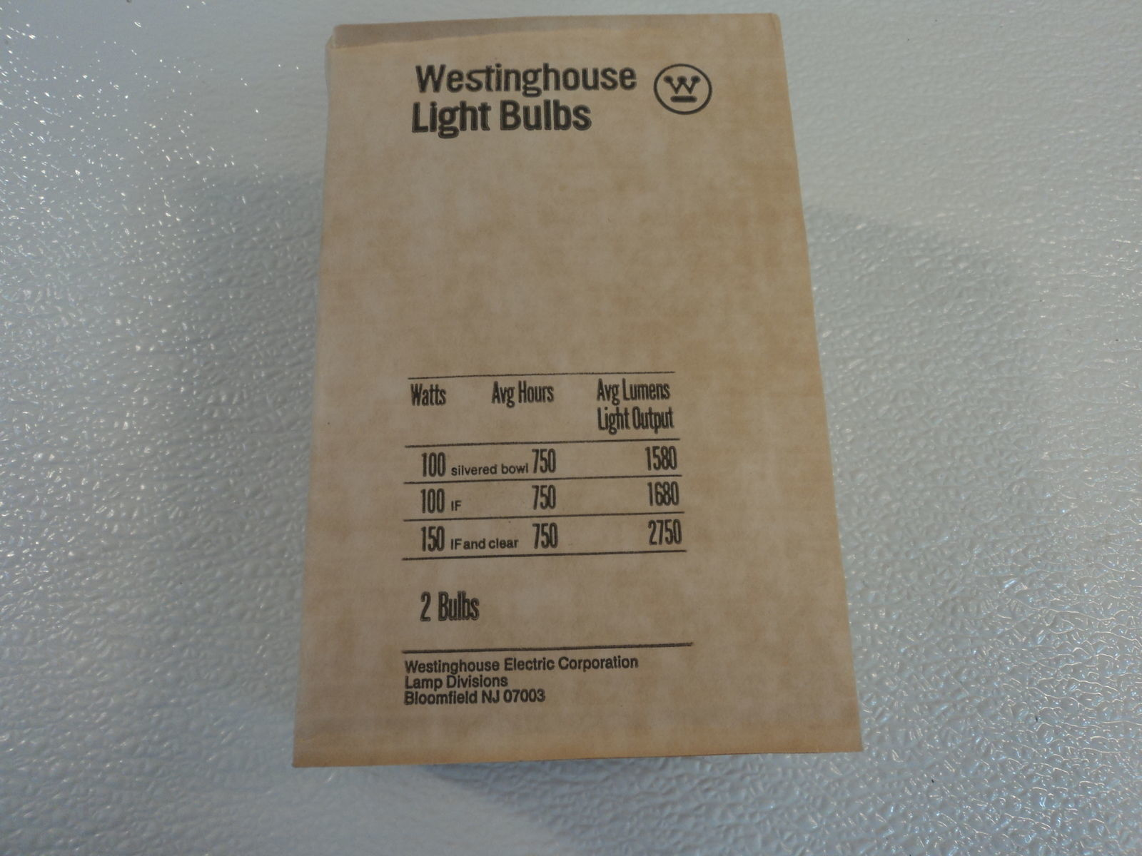 Westinghouse 150 Watt Incandescent Lamp Bulb 2 Pack Frost A20 Series HO-A232