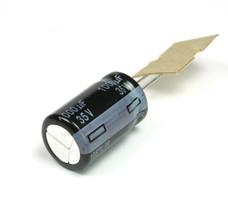 10pcs Panasonic FR 1000uF 35v  Radial Electrolytic Capacitor, 10000 Hours - $12.50