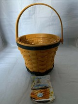 Longaberger 1999 Daisy May Series Basket with Plastic Protector - $19.62