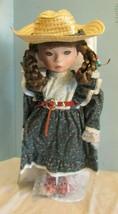 """Seymour Mann Connoisseur  doll; """"TEX """" WESTERN DOLL,15"""" GREEN EYES BRAID... - $39.60"""