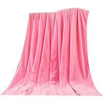 Durable Pink Baby Summer Air Conditioning Coral Carpet Infant Towel Blanket image 2