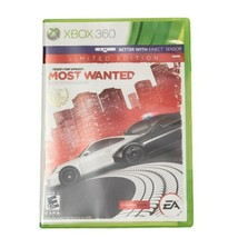 Microsoft Xbox 360 Need for Speed Most Wanted Limited Edition Video Game... - $16.40