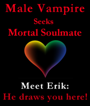spr Male Vampire Seeks Mortal Soulmate & Money Power Love Spell - $149.25