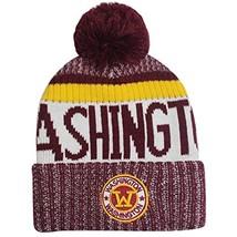 Washington Men's Winter Knit Original Pom Beanie (Burgundy) - $16.95