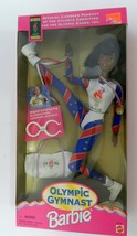 Olympic Gymnast Barbie Magical Tumbling Ring for Somersaults & More Gold... - $14.73