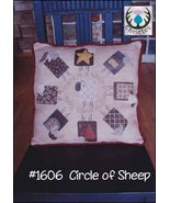 CLEARANCE Circle of Sheep cross stitch chart Thistles - $8.00
