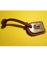 DOONEY and BOURKE Brass Duck and British Tan Leather Hang Tag - FREE SHI... - $20.00