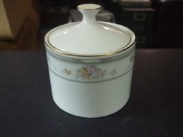 Vintage 1992 Farberware Fine China Southampton 223K Sugar Bowl w/Lid - $19.79