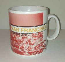 San Francisco Starbucks Mug / 20 oz 1999 / Coffee Tea Home Office Decor - $24.24