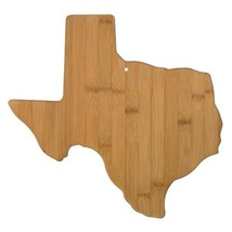 Totally Bamboo Texas State Shaped Serving and Cutting Board - £20.48 GBP