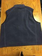EDDIE BAUER Mens Gray Full Zip Fleece Two Pocket Vest Size 2XL HOODLESS image 5
