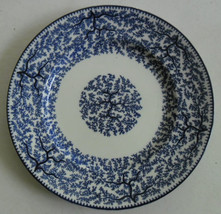 Vintage Original BRE Global Pottery Flow Blue Collectible Dinner Plate M... - $59.99