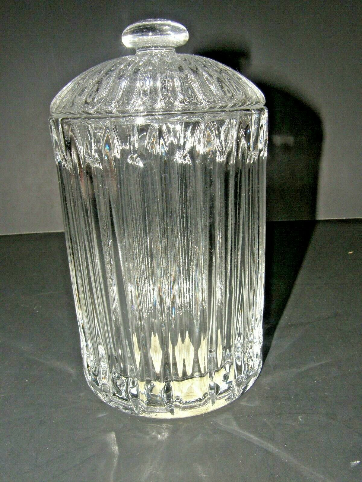 "Primary image for LENOX CRYSTAL COVERED BOX 7"" GLASS IN ORIGINAL BOX"