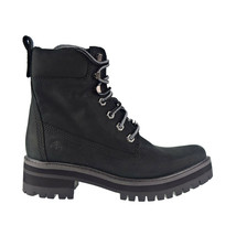 Timberland Courmayeur Valley 6 In Women's Boot Black Nubuck TB0A2CQT - $136.00