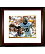 Robert Griffin III signed Baylor Bears 8X10 Photo Custom Framed (white j... - $116.95