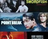 Executive Decision/point Break/swordf - Blu-Ray Region 1 Brand New Free Shipping