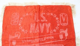 Vintage WWII Era Military U.S. Navy Naval Station Great Lakes Sweetheart... - $13.49