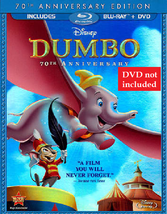 Disney Dumbo (70th Anniversary Edition Blu-ray + DVD)