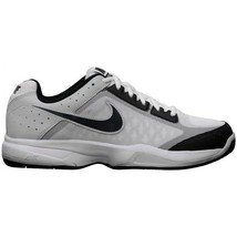 MEN'S NIKE AIR CAGE COURT SHOES SIZE 15 white anthracite black 549890 100 - $37.48
