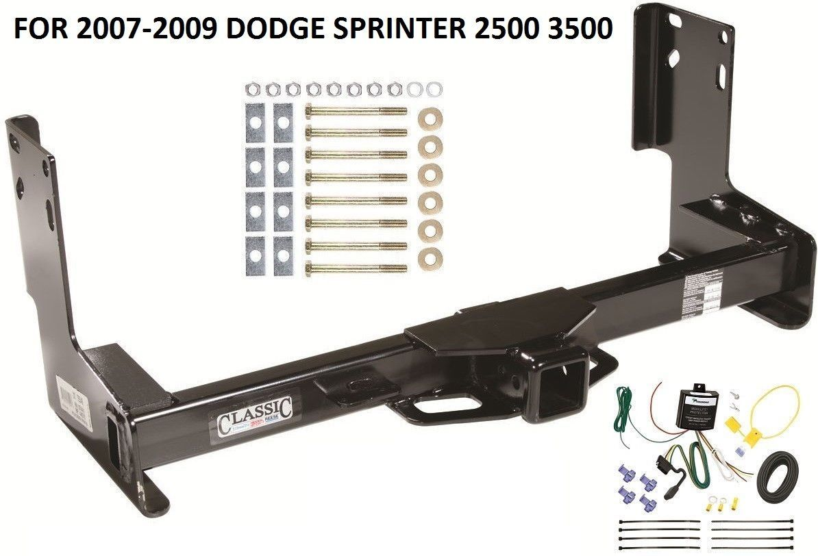 2007 dodge 3500 trailer wiring 2007-2009 dodge sprinter 2500 3500 trailer hitch w/ wiring ... #8