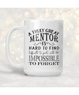 New Mug - Thank You Gift for Mentor   Truly Great Mentor Mug   - $10.99+