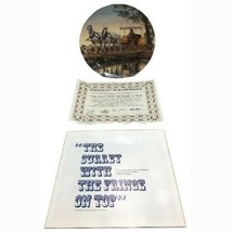 1986 The Surrey With the Fringe on Top Oklahoma Rodgers Hammerstein Plate - £26.58 GBP