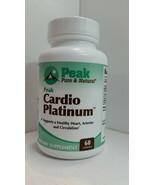 Peak Wellness Nutrition Cardio Platinum New Sealed Exp: 06/21 60 Capsule... - $34.53