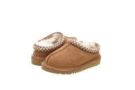 UGG Little Kids Girls Tasman Slippers Chestnut 5252K - $83.41