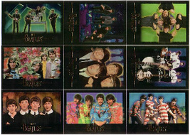 BEATLES COMPLETE SET 100 MINT 1996 SPORTS TIME COLLECTIBLE CARDS - $19.99