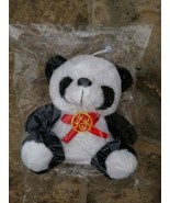 "New 7"" Happy Baby Panda Stuffed Plush Hanging Toy  - $6.93"