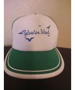 Vintage Galveston Island Hat Cap 1990's Triangle Headwear - $31.64