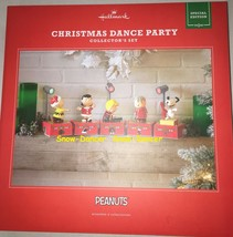Hallmark 2017 Christmas Dance Party Peanuts Collectors Set Special Edition - $259.99