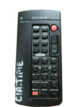 Sony RMT-811 Camcorder Remote For Models DSR-PDX10 DSR-PD100 DSR-PD150 DSR-PD170 - $6.92