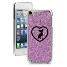For Apple iPod Touch 4th 5th 6th Glitter Bling Hard Case Cover Chihuahua... - $14.99