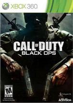 Call of Duty: Black Ops - Xbox 360- Complete w/ Box & Manual - $10.88