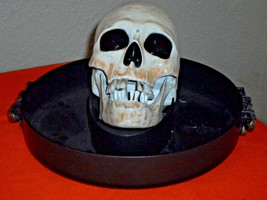 """Halloween Animated Singing """"I Ain't Got No Body"""" Talking Candy Bowl Tray - €26,50 EUR"""