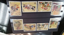 CHINA COLLECTION OF 8 MINT STAMP - 1992 -1994 , B3 - $220.99