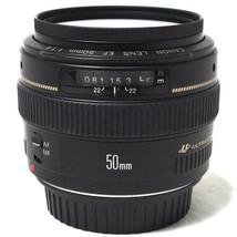 Canon EF50mm F1.4 USM Camera Lens Focus AF MF Full Size Support from Japan - $484.92